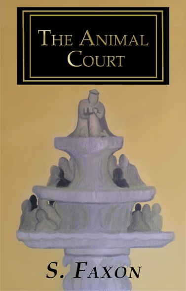 Animal Court Black Cover